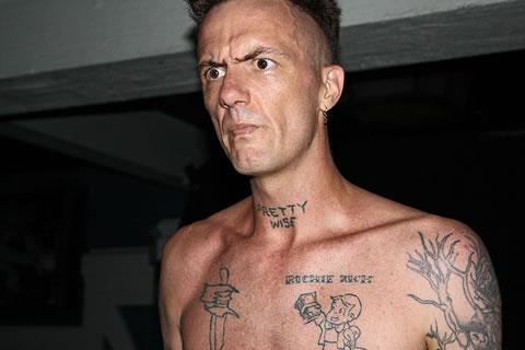 На жопе у телки татуировка  devahycom