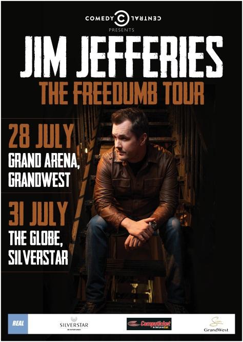 Jim Jefferies Freedumb SA 2015