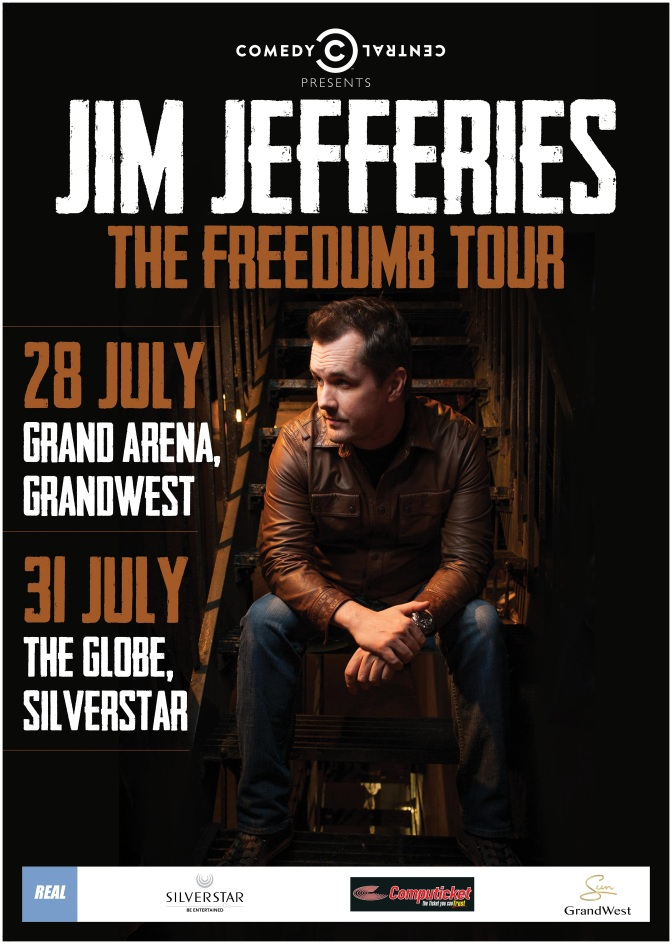Jim Jefferies Live in South Africa.